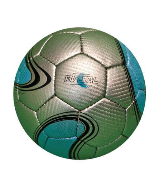 Diamond Blue and Gold Futsal Ball