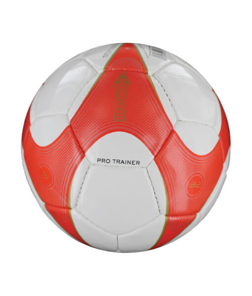 Diamond Pro Trainer Football White and Red