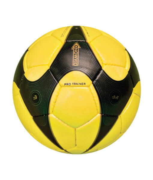 Diamond Pro Trainer Football Yellow and Black