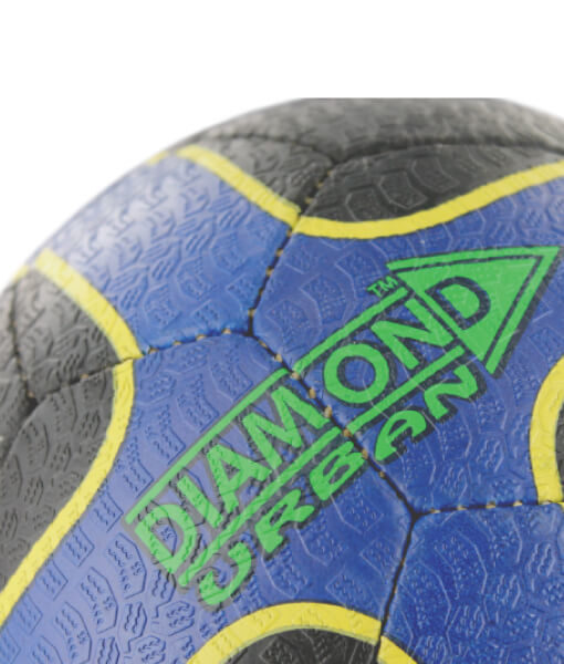 Diamond Urban Street Football Close-up