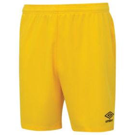 Umbro-Club-Short-Yellow